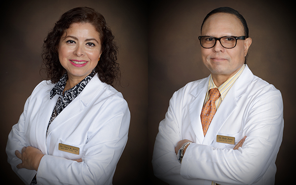 Drs. Clara and Dale Jerez